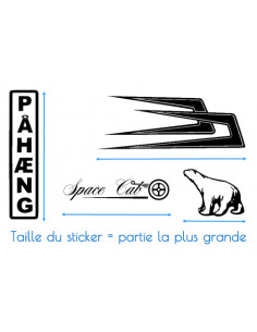 Stickers TRACÉ CIRCUIT De Catalunya