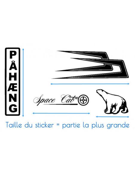 Stickers TRACÉ CIRCUIT de Monaco