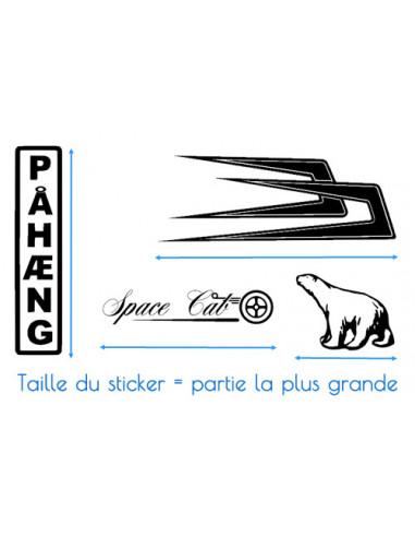 Stickers TRACÉ CIRCUIT de Silverstone