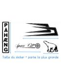 Stickers TRACÉ CIRCUIT de Zolder